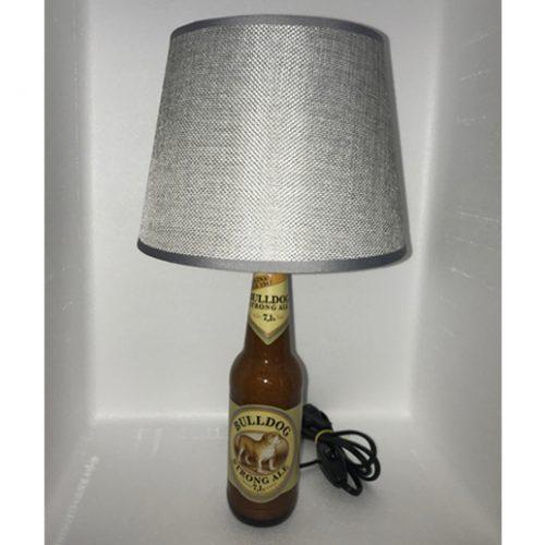 lampada-artigianale-bulldog-argento